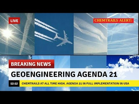 ALERT: CHEMTRAILS FOOD WATER & AIR CONTAMINATED BY MASSIVE EUGENICS AGENDA 21 PROGRAMS ALUMINUM