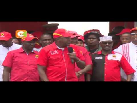 Jubilee yafanya kampeni Garissa, Isiolo