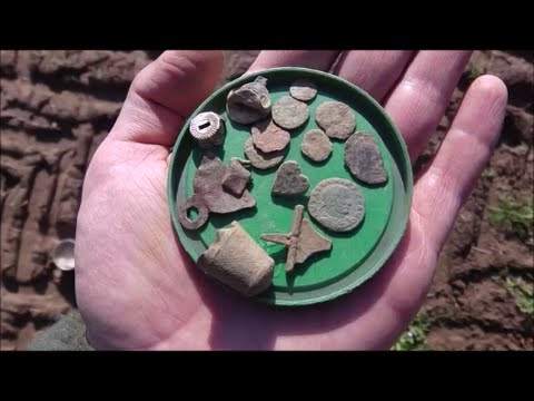 Metal Detecting Germany Nr.69 More Roman Coins!!