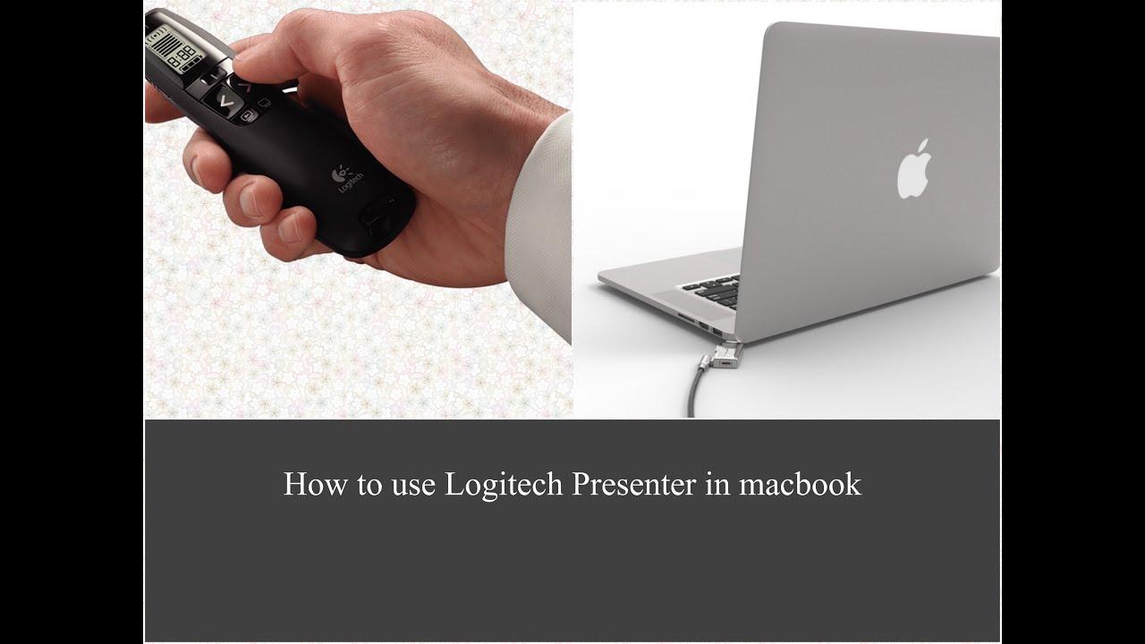 7b7b00c1e63 How to use Logitech Presenter in Macbook - YouTube