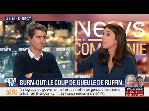 DAVOS, BURN OUT (et petit coup de gueule) : François Ruffin sur BFM