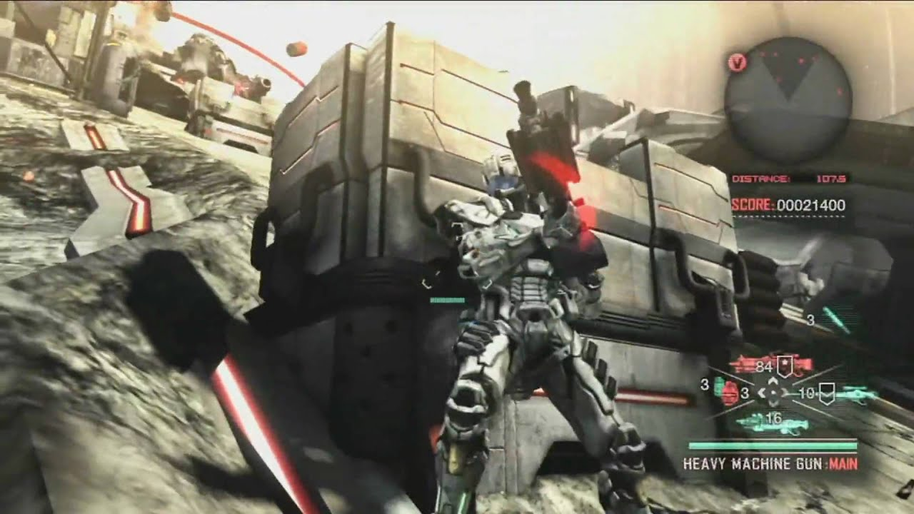 Vanquish Exclusive E3 Gameplay Trailer HQ 1080p - YouTube