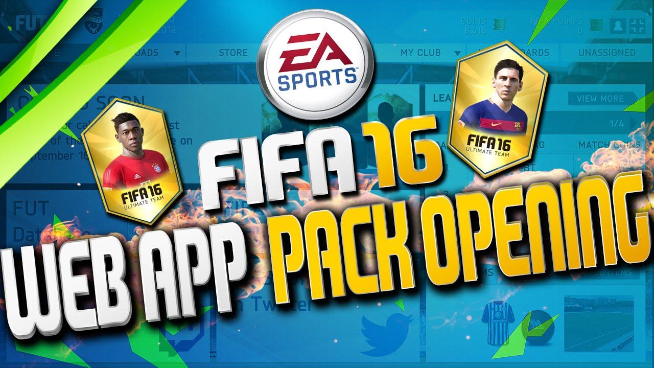 Web App Fifa 16