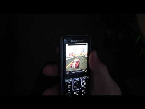 Need for speed pro street motion sensor on sony ericsson k850i in High Definition