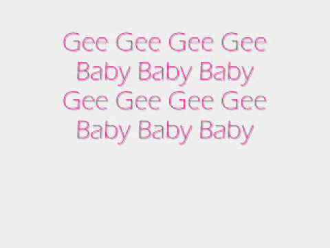 SNSD-Gee Lyrics (English Translation In Sidebar)