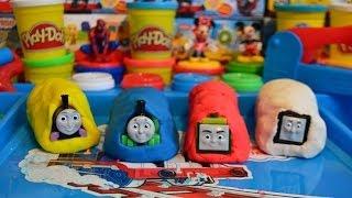 Play-Doh Thomas And Friends Surprise Eggs Trains Percy Thomas The Tank Engine Mavis James 托马斯&朋友