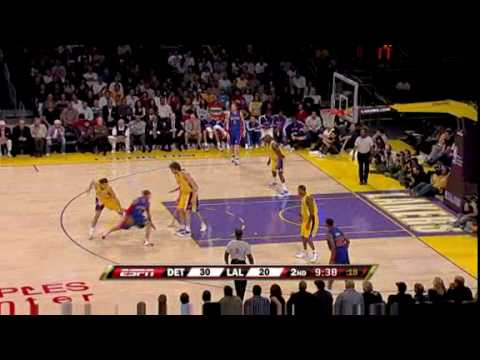 Pistons vs. Lakers