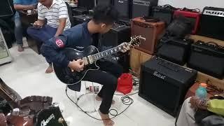 Jual gitar gibson black beauty sold to Setu Bekasi by #dennystunt