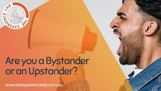 Becoming an Upstander