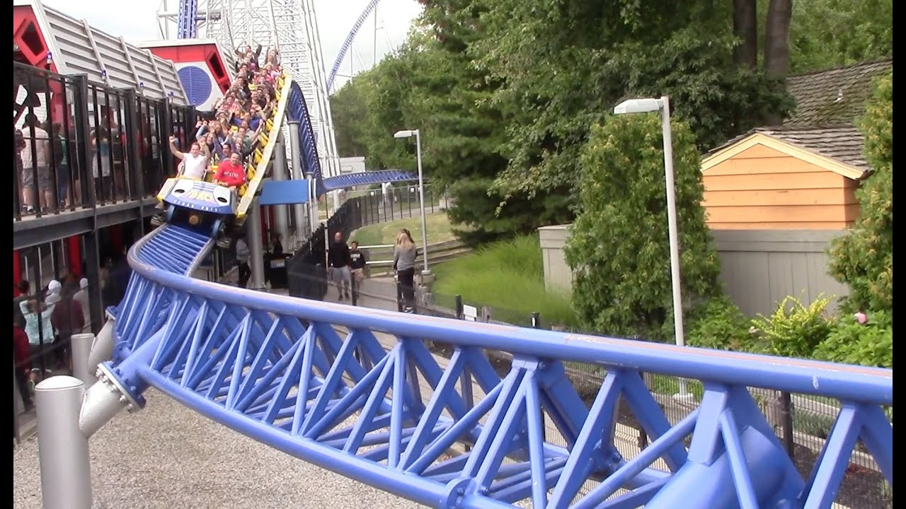 a description of the millennium force giga coaster Millennium force (cedar point) - onride - millennium force is an intamin ag sit-down giga roller coaster located at millennium, force, roller, coaster.