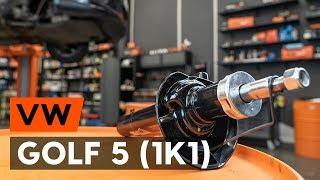 Hur byter man Fjäderben GOLF V (1K1) - steg-för-steg videoinstruktioner