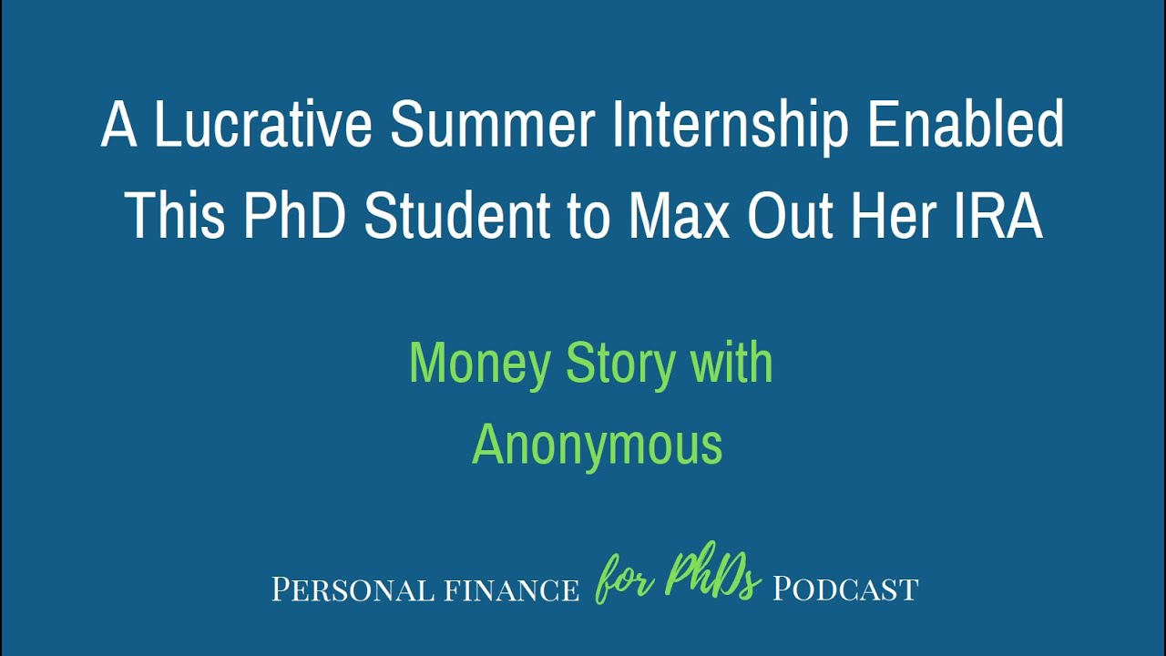 Blog Personal Finance For Phds