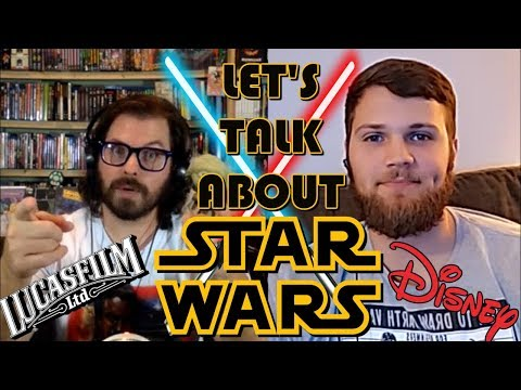 Let's Talk About Star Wars! Fandom, Rise of Skywalker, The Mandalorian!