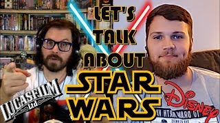 Let's Talk About Star Wars! Fandom, Rise of Skywalker, The Mandalorian!