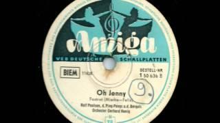 Amiga 1 50 636  Oh Jenny - Ralf Paulsen, Das Hemmann-Quintett, Die Bergols
