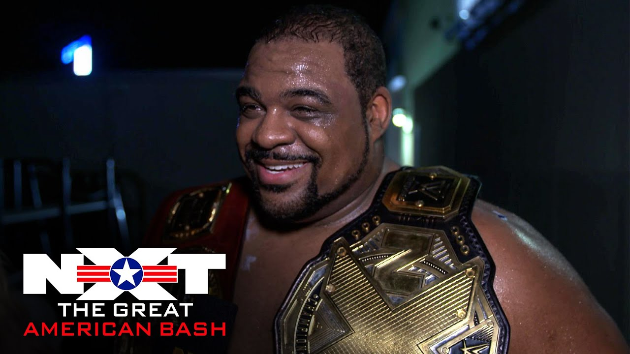 Keith Lee takes in the moment: WWE Network Exclusive, July 8, 2020