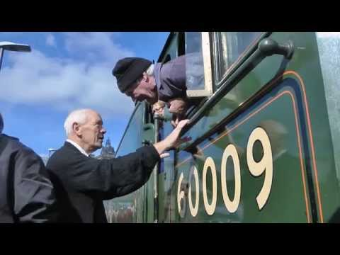 Waverley Line (Borders Railway) Inaugural Steam Service 10th September 2015