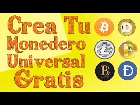 Como Crear Cuenta Dogecoin, Litecoin, Peercoin Y Mas...( Monedero Universal )