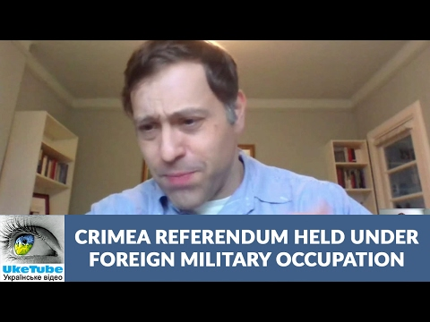 3 big problems invalidate referendum in Crimea, Ukraine