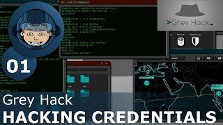 HACKING CREDENTIALS - Grey Hack: Part 1 - First Look & Basics