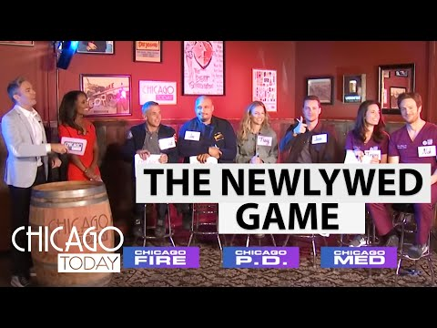 Actors From 'Chicago Fire,' 'Chicago Med,' And 'Chicago PD' Play Newlywed Game   NBC Chicago