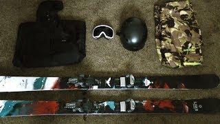 Ski Gear - MY 2017-2018 SKI SETUP!