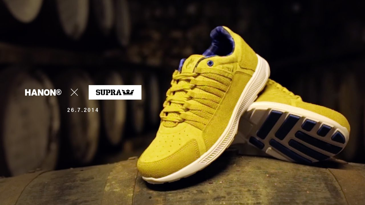 The SUPRA x Hanon Shop Whisky Gold Owen and Black Label Owen Mid - YouTube 75ad324b5