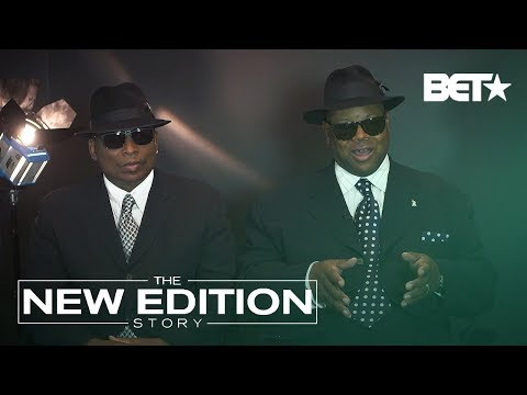 """The New Edition Story"" Behind The Scenes: Jimmy Jam And Terry Lewis Meet The Group"