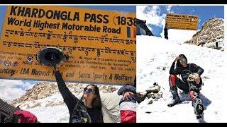 Khardung La Pass ||World's Highest Motorable Road|| Yes, I did it Ep. 09