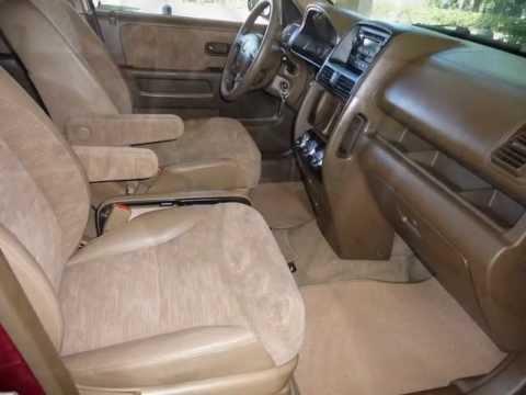 Honda crv 2002 interior