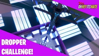 The IMPOSSIBLE DROPPER Challenge | Fortnite Creative Mode