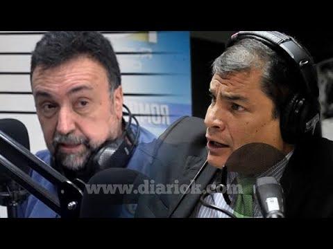 """Rafael Correa mano a mano con Navarro: """"En Ecuador y en Argentina ya no existe la democracia"""""""