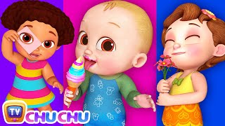 Five Senses Song - Human Sensory Organs - ChuChu TV Funzone 3D Nursery Rhymes & Kids Songs thumbnail