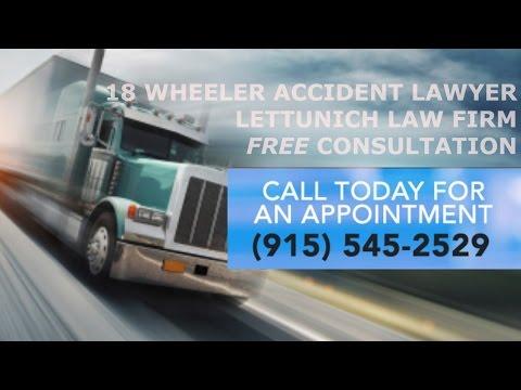 El Paso 18 Wheeler Accident Injury Lawyer (915) 545-2529 -18 Wheeler Accident Attorney  El Paso,TX