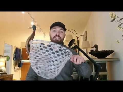 DIY Rubber Fly Fishing Net