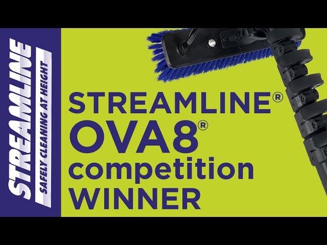 STREAMLINE OVA8 water fed pole competition winner