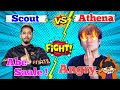 Scout VS Athena gaming | When Athena took revenge from scout | Athena rage on camera | Indian Gaming