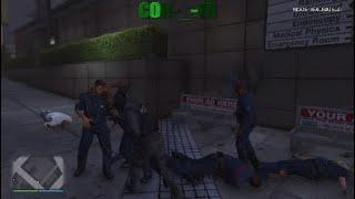 GTA 5 Combat au Point Américain+Slow Motion ;)