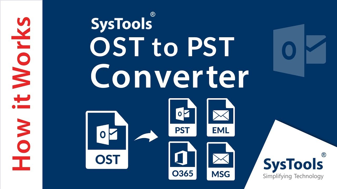 OST to PST Converter Tool To Backup Outlook OST File to PST