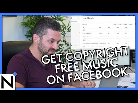 Get Copyright Free Music For Facebook Videos | Facebook Sound Collection