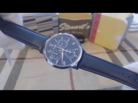 Fossil Abilene Blue Strap Chronograph Women's Watch CH3072