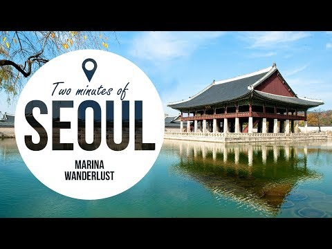 Seoul Korea Travel Guide in 2 Minutes | Map Inside Video