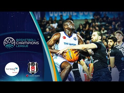 Türk Telekom V Besiktas Sompo Sigorta – Highlights – Rd 16 – Basketball Champions League 2019-20