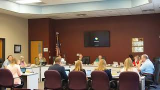 Menomonie School Board Meeting 08 13 2018