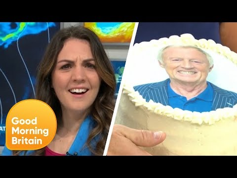 Happy Birthday to Chris Tarrant... and Weather's Laura Tobin | Good Morning Britain