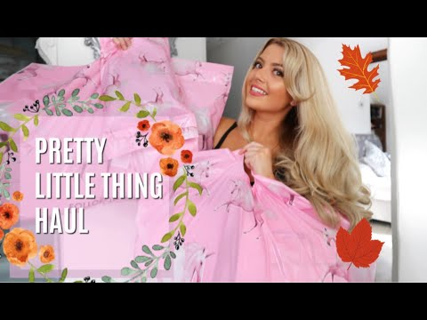 Huge Pretty Little Thing Try On Haul Autumnwinter Ft Discount