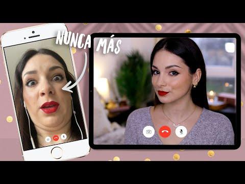 Salir bien en videollamadas | Trucos y tutorial de maquillaje