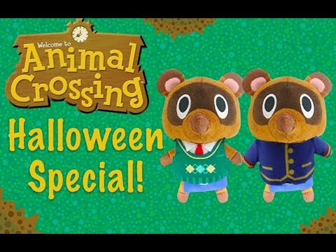 Animal Crossing Plush Adventures Halloween Special Youtube