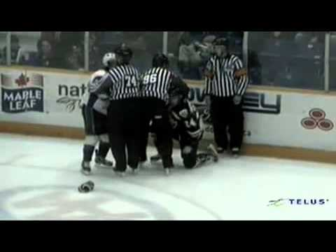 Guillaume Gauthier vs MacKenzie Brown Feb 28, 2014