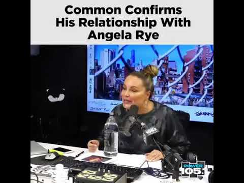 Common Confirms He Is Dating Angela Rye